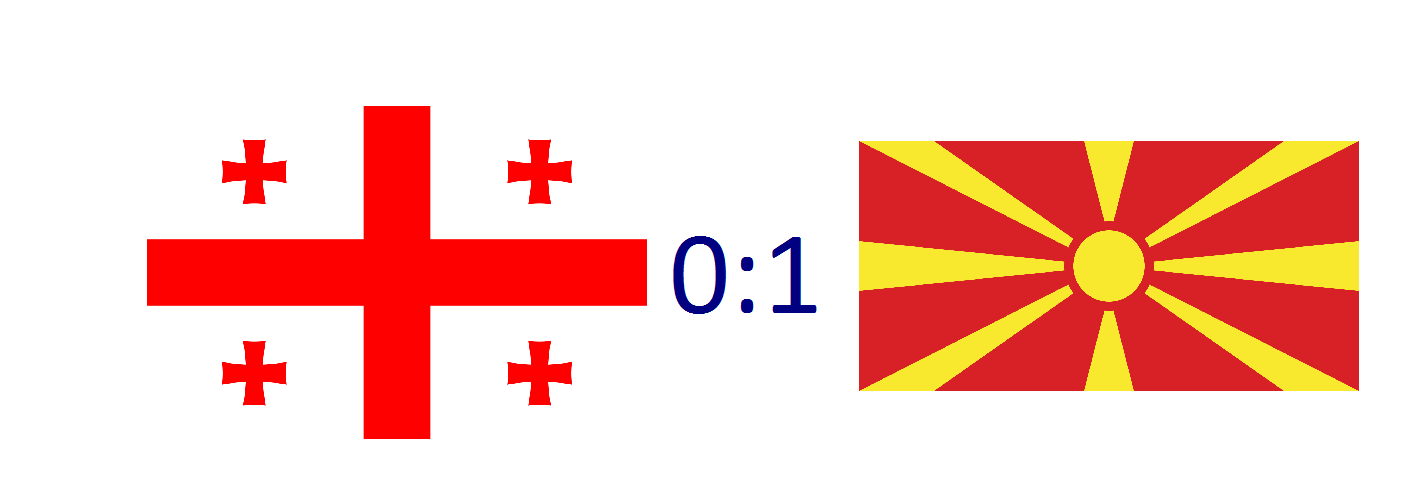 საქართველო 0:1 ჩრდილოეთ მაკედონია